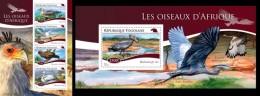 Togo 2014, Animals, Birds I, 4val In BF +BF
