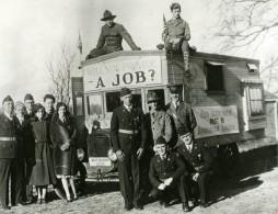 USA East Bridgewater Bus Pour L'Emploi Scouts Ancienne Photo De Presse 1931