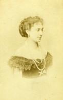 France Actrice De Theatre Mlle Fromentin Ancienne Photo CDV Reutlinger 1870's - Photographs