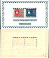 84240) Norvegia-1972-100 Anni Della Erie -corno Postale- BF-n.2-nuovo