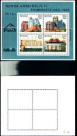 84241) Norvegia-1986-giornata Del Francobollo-il Lavoro- BF-n.6-nuovo