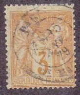N 86  3C BISTRE-JAUNE - TB
