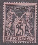 N 97   25C ROSE NEUF* GOMME ORIGINALE - TB