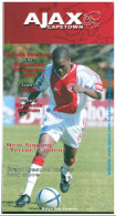 Programme Football 2005 Ajax Capetown V Moroka Swallows (South Africa) League - Books