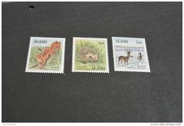 K10476- Stamps MNH Aland - 1989-animals
