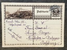 A17 Österreich Austria Autriche Ganzsache Stationery Entier Postal Mi. P 278a Melk