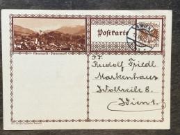 A17 Österreich Austria Autriche Ganzsache Stationery Entier Postal Mi. P 278d Neumarkt