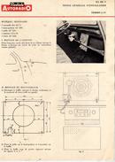 Radiola Autoradio -Dept Service - Rue Joseph De Maistre Paris 18e - RA 425 V Notice Générale D'installation Citroën 2 CV - Vieux Papiers