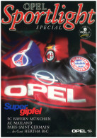 Football Programme Tournament 1997 Opel Masters: Hertha BSC (Berlin Germany Deutschland), Bayern Munchen, AC Milan (I... - Books