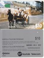 NORFOLK ISL. - Bounty Day, First Issue $10(series No 1 SCC), Tirage %25000, Used - Norfolk Island