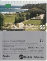 NORFOLK ISL. - Kingston, First Issue $5(series No 1 SCC), Tirage %25000, Used - Norfolk Eiland