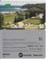 NORFOLK ISL. - Kingston, First Issue $5(series No 1 SCC), Tirage %25000, Used - Norfolk Island