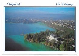 74 - Lac D'Annecy - L'Impérial, Hôtel, Casino, Centre De Congrès - Ed. Rossat-Mignod N° 1404 B - 1992 - Annecy