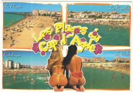 FRANCIA - France - 2003 - 34 Hérault - Agde - Les Plages Du Cap D'Adge - Multivues + Femmes Sexy - Viaggiata Da Adge ... - Agde