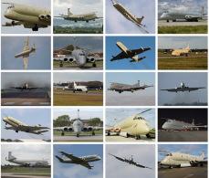 20 Postcards Of UK Nimrod Multi-purpose Plane Fight Plane,  Postkarte Carte Postale - 1946-....: Ere Moderne
