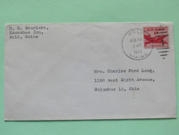 USA 1953 Cover Weld To Colombus - Plane - United States