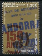 Andorra Spanish Post 2016 150 Years New Reforms 1v, (Mint NH)