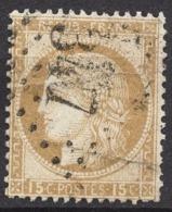 FRANCE 1871/75 -  Y.T. N° 55 - OBLITERE - FD46