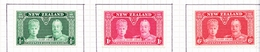 New Zealand 1935 Silver Jubilee Set Of 3 SG 573/5 Lightly Mounted Mint - 1907-1947 Dominion