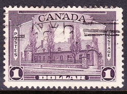 CANADA KGVI 1937 $1 Dollar Purple SG367 Fine Used - 1937-1952 Regno Di George VI