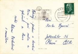 K9749 - DDR (1967) 10 Berlin: BERLIN In The Capital Of The GDR (postcard: Meissen) Tariff: 10 Pf