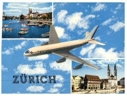 (ORL 630) Switzerland - Zürich & Aircraft - Avion - 1946-....: Moderne