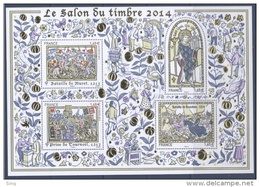 Bloc N° 135  Le Salon Du Timbre  Année 2014, Valeur Faciale 6,20 €