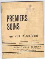 N LIVRET PREMIERS SOINS EN CAS D ACCIDENT  FEDERATION NATIONALE DE SAUVETAGE  ** A SAISIR ** - Autres
