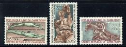1972  JEUX OLYMPIQUES DE MUNICH NATATION, BOXE, équitation  ** - Cameroon (1960-...)