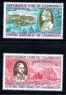1978  James Cook, Siège De Québec, Voyages D'exploration  Poste Aérienne ** - Cameroon (1960-...)
