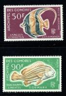 1968  Poissons  Yv PA 23-4  ** - Neufs