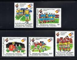 1981  Coupe Du Monde De Football  Espana '82  Série Complète  ** - Comores (1975-...)
