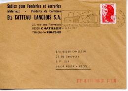Flamme,culture,thêatre Ecrivain Romain Rolland,oiseau,Sable Carrière Fonderie Verrerie,92 Chatillon,lettre Villejuif