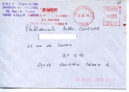 EMA Géologie,Alpes,transport SNCF Région De Lille Train,Nord-Alpes,la Neige Par Train Direct,lettre Lille Bourse 12.12.1
