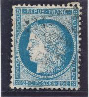 N°60A TYPE I VARIÉTÉ 138 PANNEAU G.3.