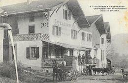 Jouvernex-Margencel - Café-Restaurant Du Commerce - Amédée Bouvet - Photo E. Baudet - Restaurants