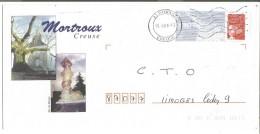 PAP REPIQUE - MORTROUX  CREUSE - PAP: Aufdrucke/Luquet