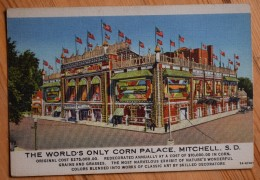 Mitchell S. D. - The World's Only Corn Palace - (n°6926) - Etats-Unis