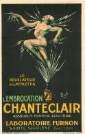SAINTE SIGOLENE LABORATOIRE FURNON PUBLICITE EMBROCATION CHANTECLAIR ILLUSTRATEUR MICH - France