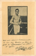 BOXEUR R. PORCHE CHAMPION DE FRANCE POIDS MI MOYEN PUBLICITE POUR DERMOXA CONTRE LES MAUX DE PIEDS - Boxing