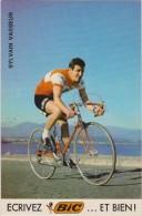 CYCLISME - Sylvain VASSEUR - Pub BIC - Autres Collections