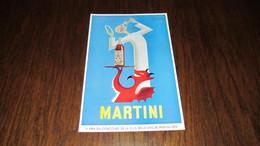MARTINI - ANGE Et DIABLE - ANCIENNE PUBLICITE DE F. MARCOU - ANNEE 1954 - Advertising