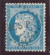 N°60A TYPE I VARIÉTÉ 74 B.2.ETAT