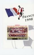 Angola 1997-Coupe Du Monde De Foot En France, équipe D´Angola-B35***mnh