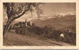 GRENOBLE - Vue Générale Sur Le Massif De Belledonne - Au 1er Plan, Le Village De Corenc