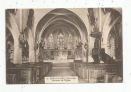 Cp , 21 , ARNAY LE DUC , Intérieur De L'église , Voyagée 1924 , Ed : SPP - Arnay Le Duc