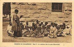 Missions Du Sud-Afrique - Série V - Le Cathéchisme Chez Les Petits (Basutoland) - Carte Non Circulée - Missions