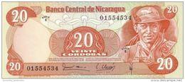 NICARAGUA 20 CORDOBAS 1979 P-135 UNC [NI429a] - Nicaragua