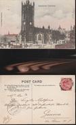 8004) MANCHESTER CATHEDRAL VIAGGIATA 1904 - Manchester