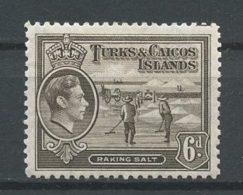 TURKS CAIQUES 1938 N° 127A * Neuf = MH Trace Charnière Ramassage Du Sel